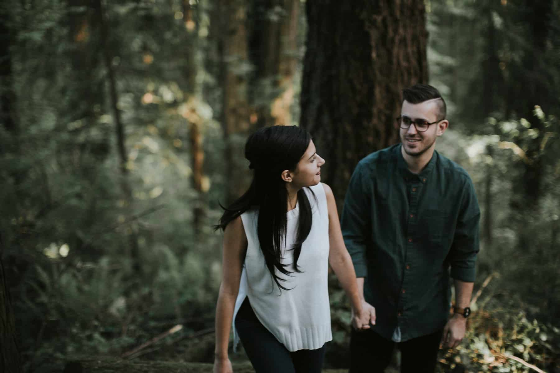 Portland Oregon Hoyt Arboretum Engagement Session 0021