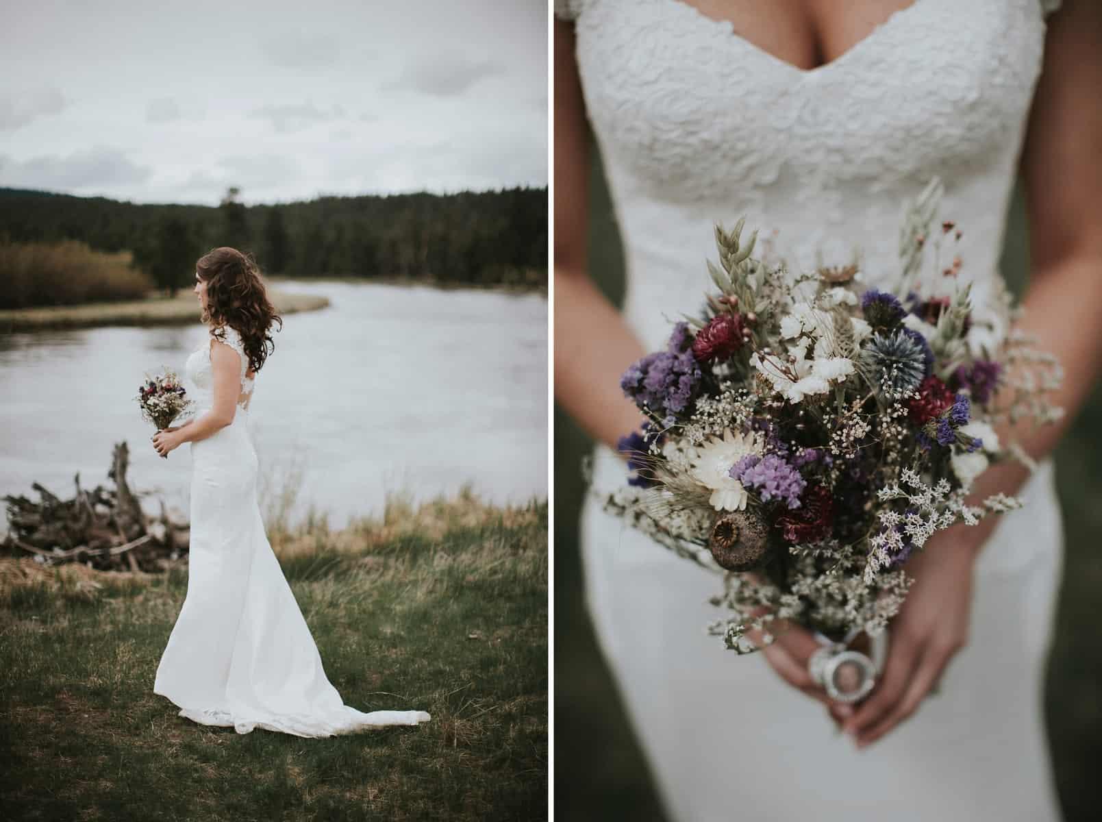 Sara Emily Sunriver Bend Oregon Rustic Lodge Wedding 0021