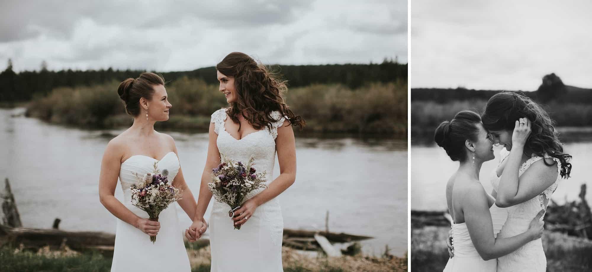 Sara Emily Sunriver Bend Oregon Rustic Lodge Wedding 0026