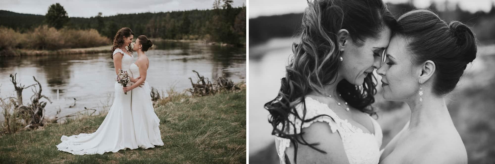 Sara Emily Sunriver Bend Oregon Rustic Lodge Wedding 0032
