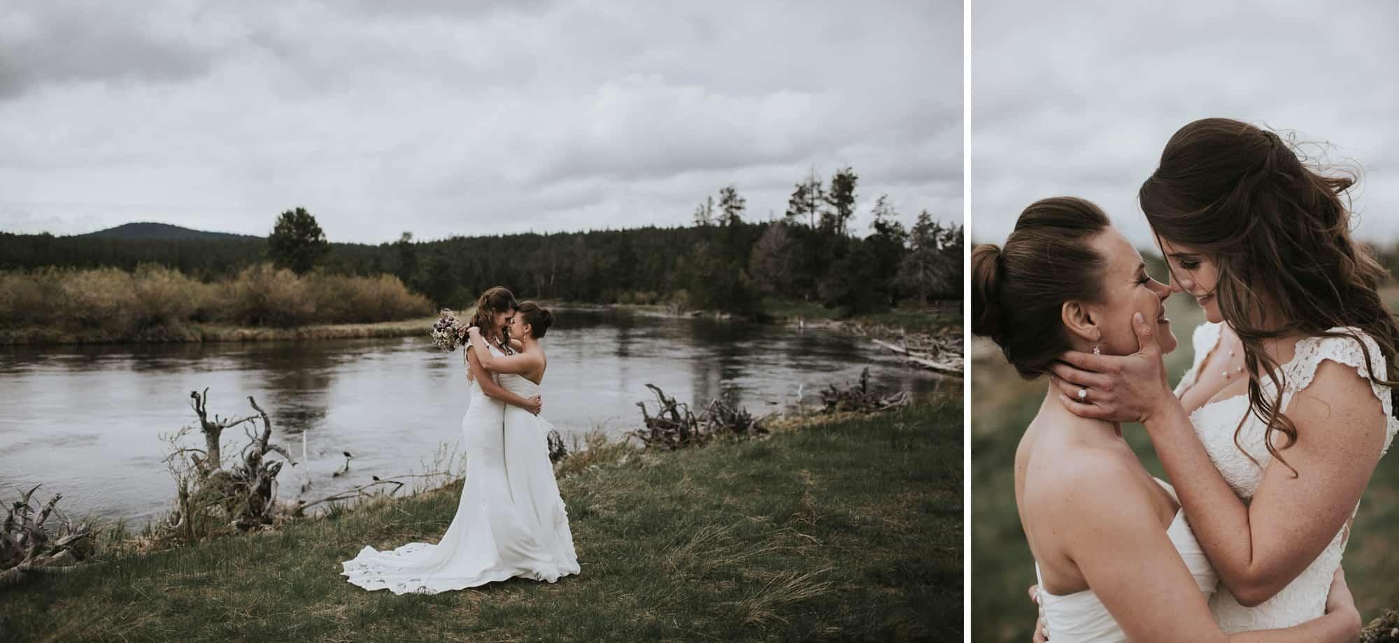 Sara Emily Sunriver Bend Oregon Rustic Lodge Wedding 0033
