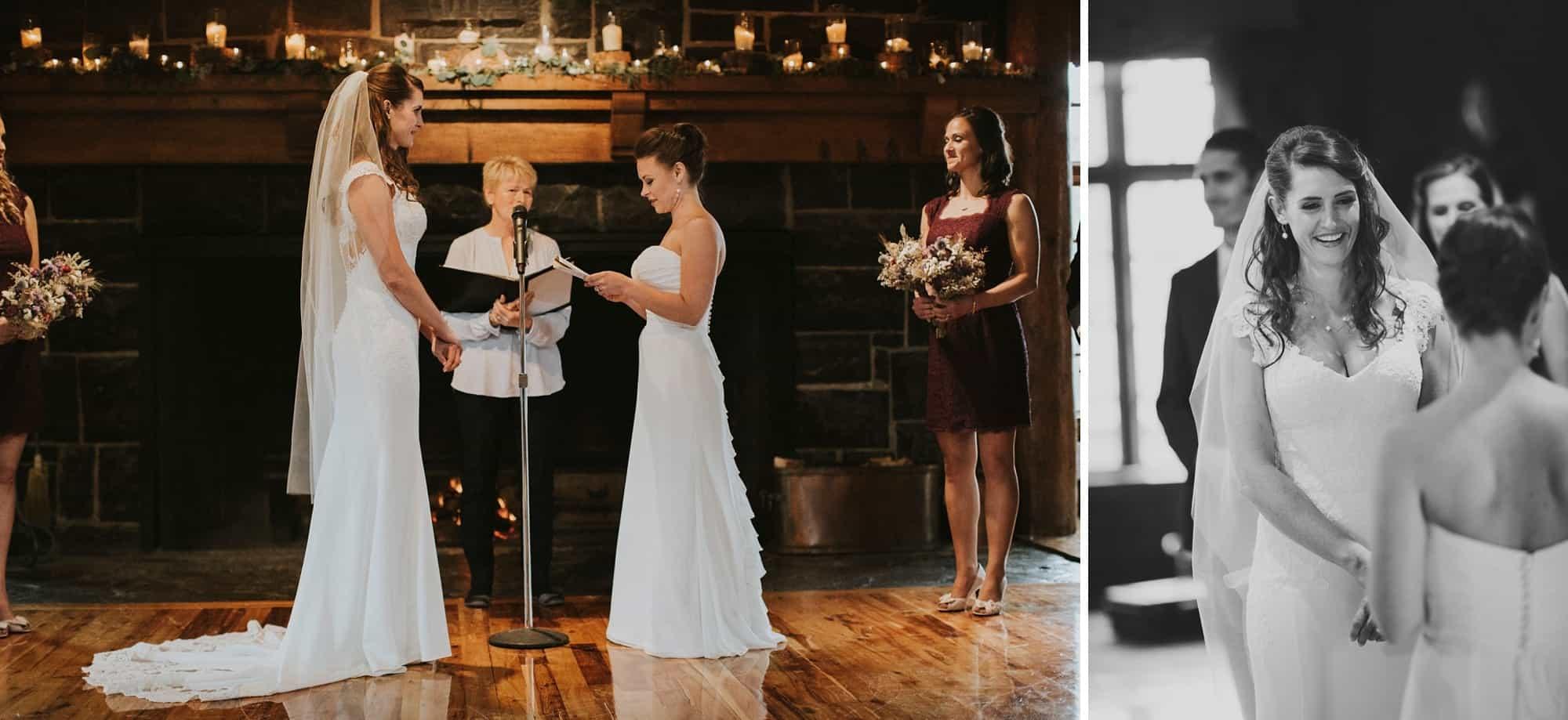 Sara Emily Sunriver Bend Oregon Rustic Lodge Wedding 0044