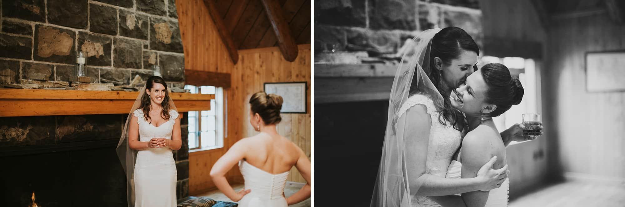 Sara Emily Sunriver Bend Oregon Rustic Lodge Wedding 0050