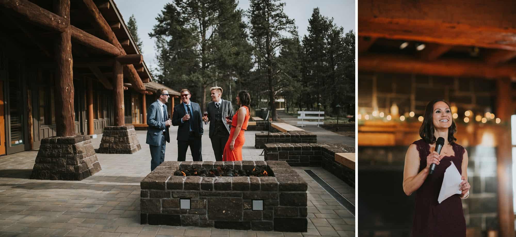 Sara Emily Sunriver Bend Oregon Rustic Lodge Wedding 0058
