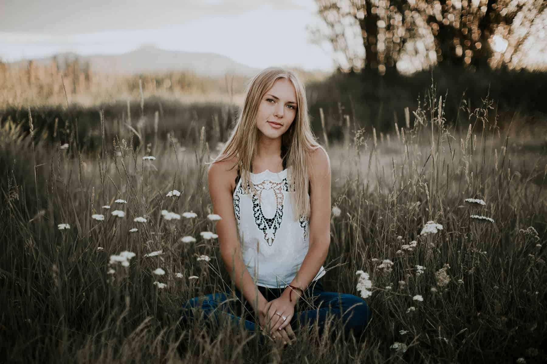 Victoria Carlson Bend Central Oregon Senior Photos Black Butte Ranch 0019