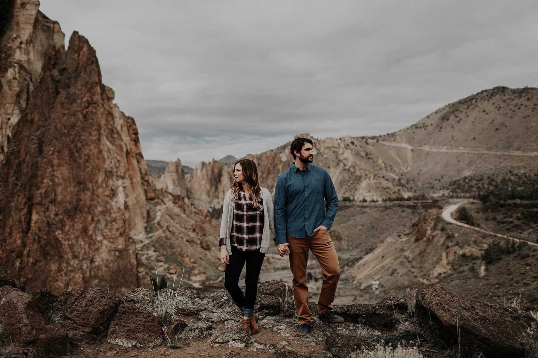 Central Oregon Smith Rock NW Engagement 007