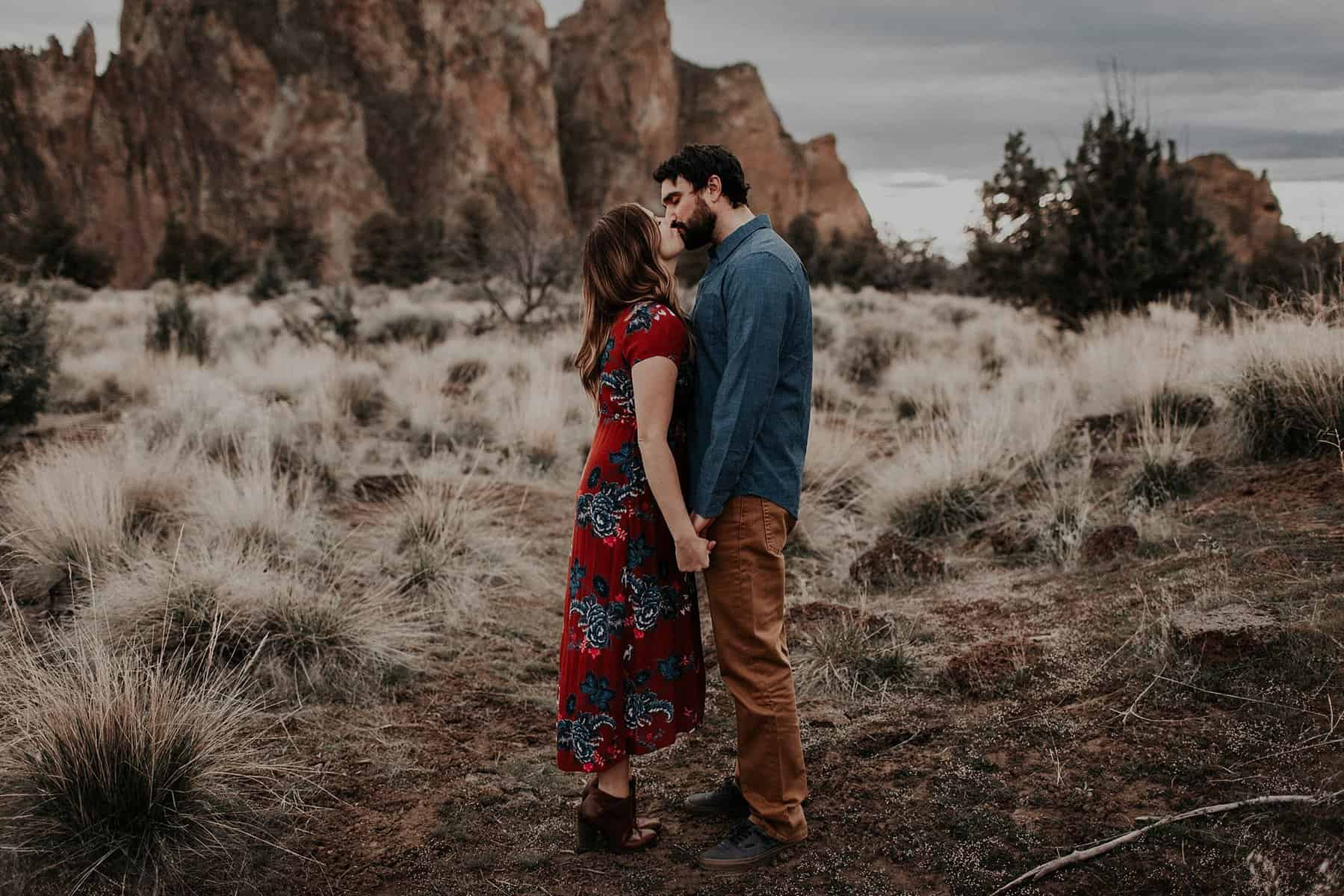 Central Oregon Smith Rock NW Engagement 013