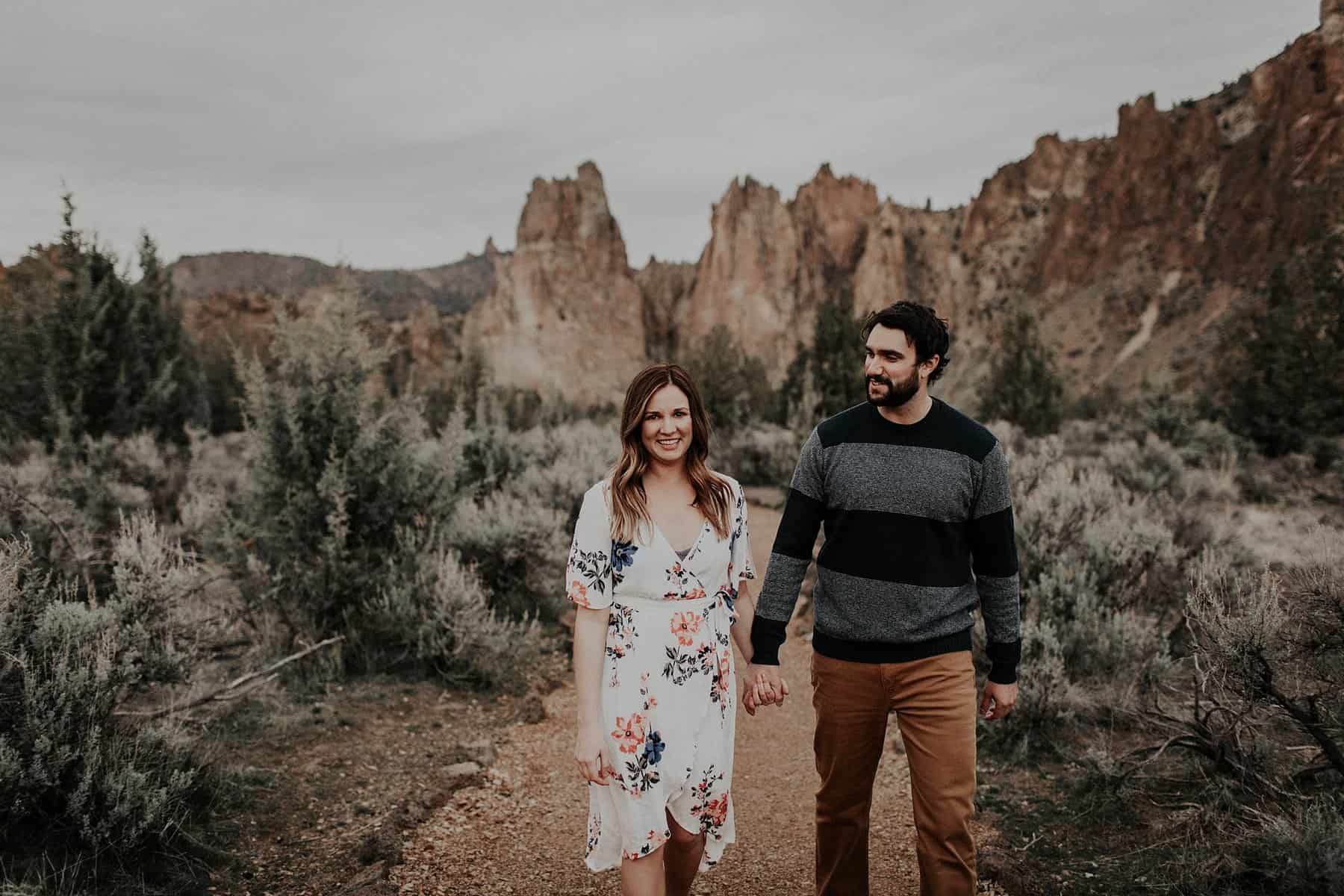 Central Oregon Smith Rock NW Engagement 025