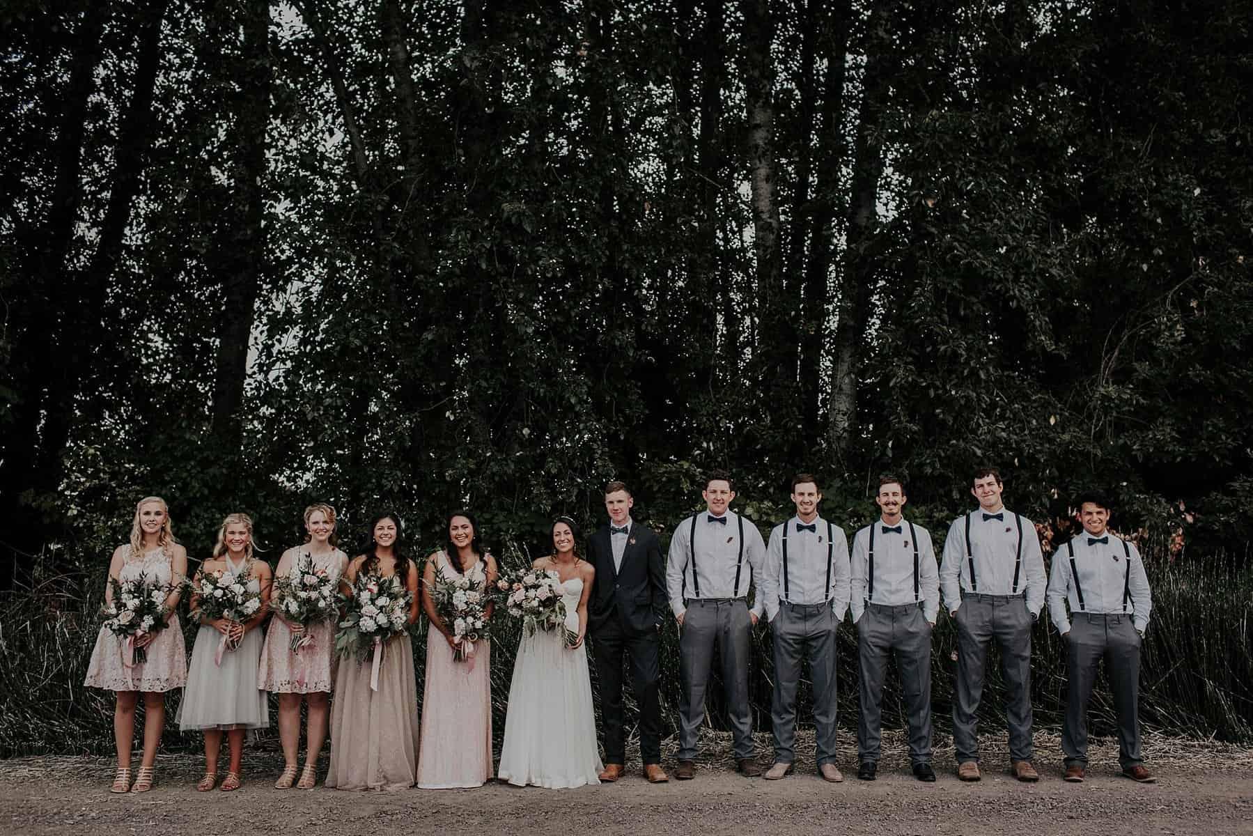 Northwest Oregon Classy Bohemian Country Wedding Victoria Carlson 0034