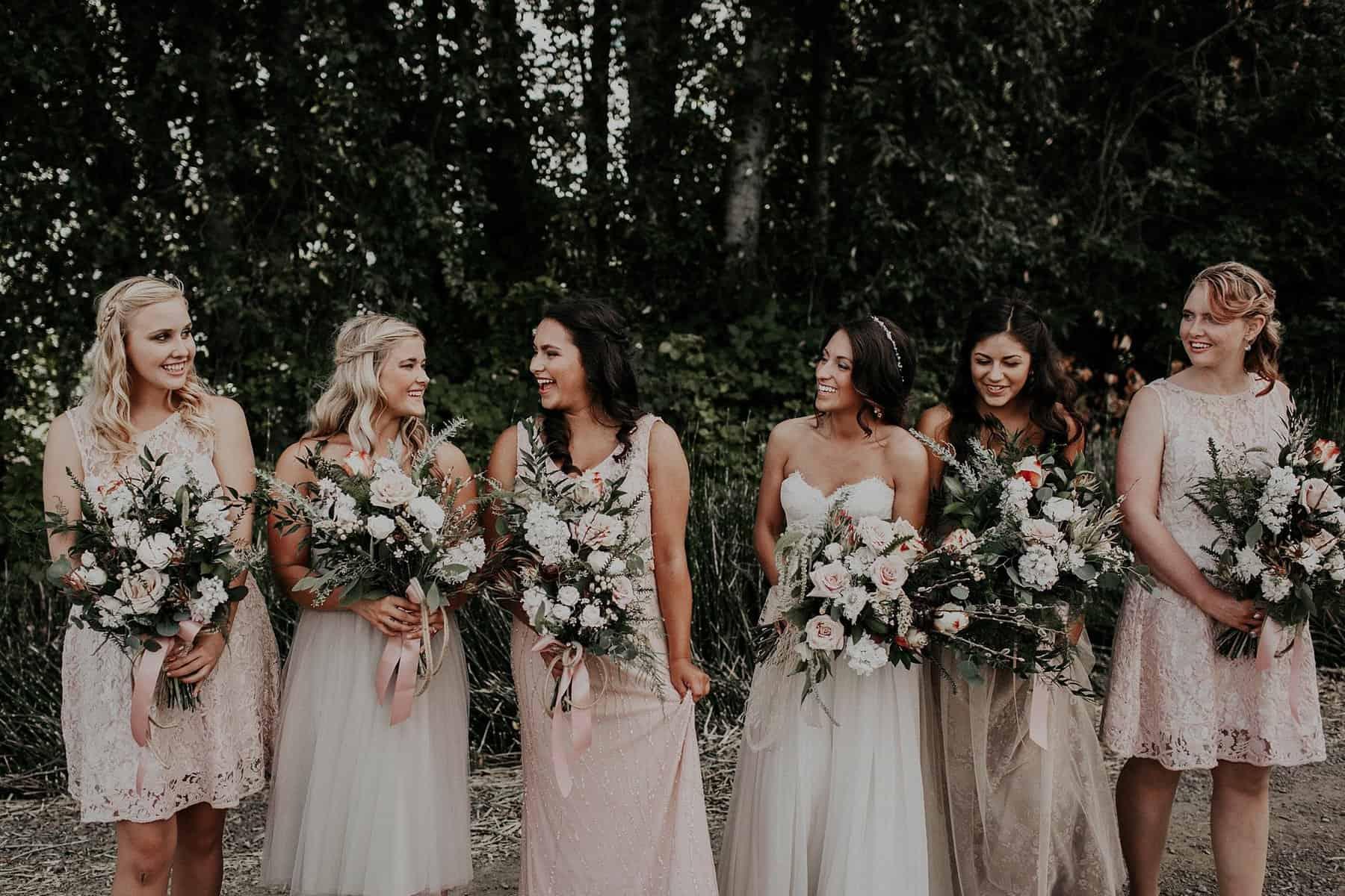 Northwest Oregon Classy Bohemian Country Wedding Victoria Carlson 0035