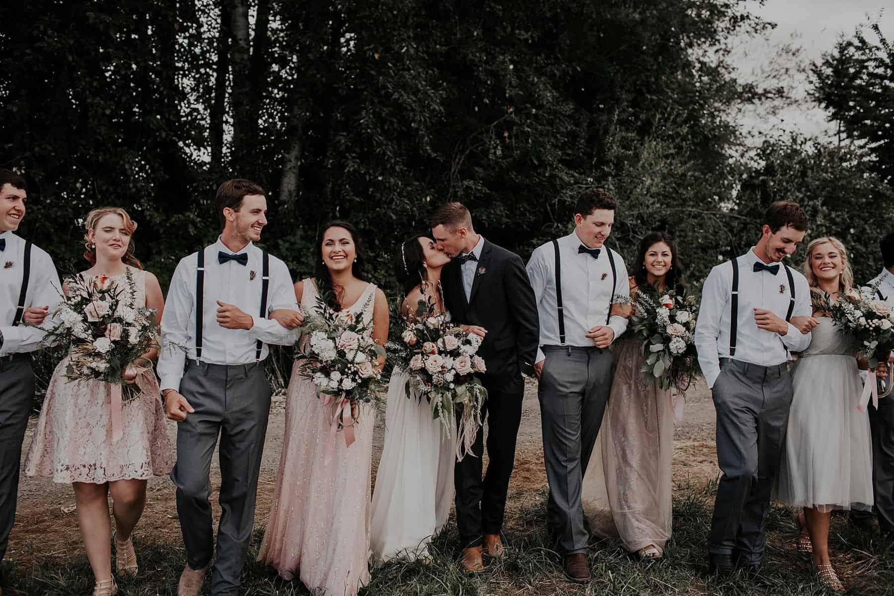 Northwest Oregon Classy Bohemian Country Wedding Victoria Carlson 0039