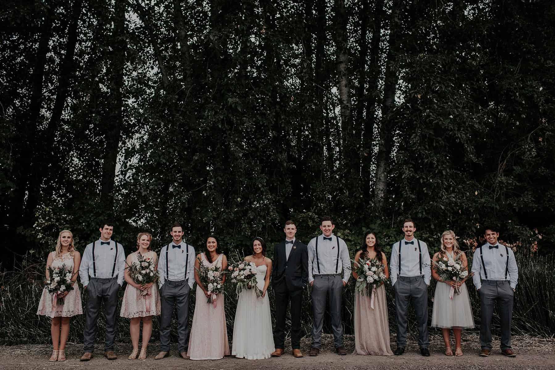 Northwest Oregon Classy Bohemian Country Wedding Victoria Carlson 0040