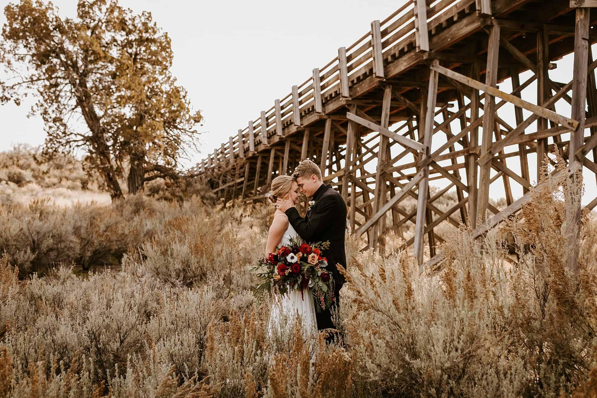 Brasada Ranch Bend Oregon Elegant Wedding