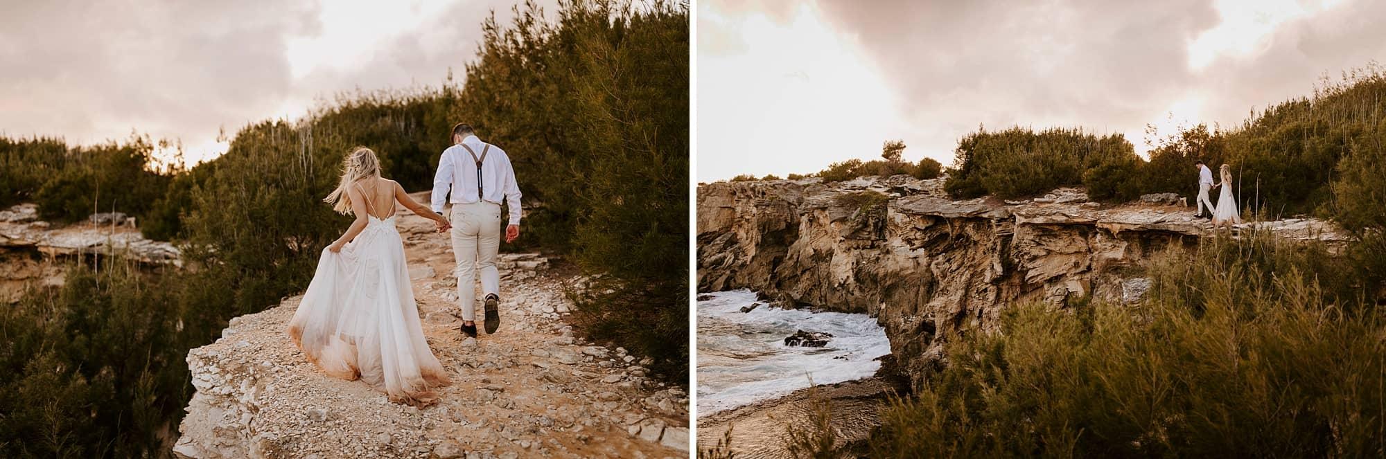 Kauai Hawaii Romantic Intimate Wedding Shipwreck Beach Portraits