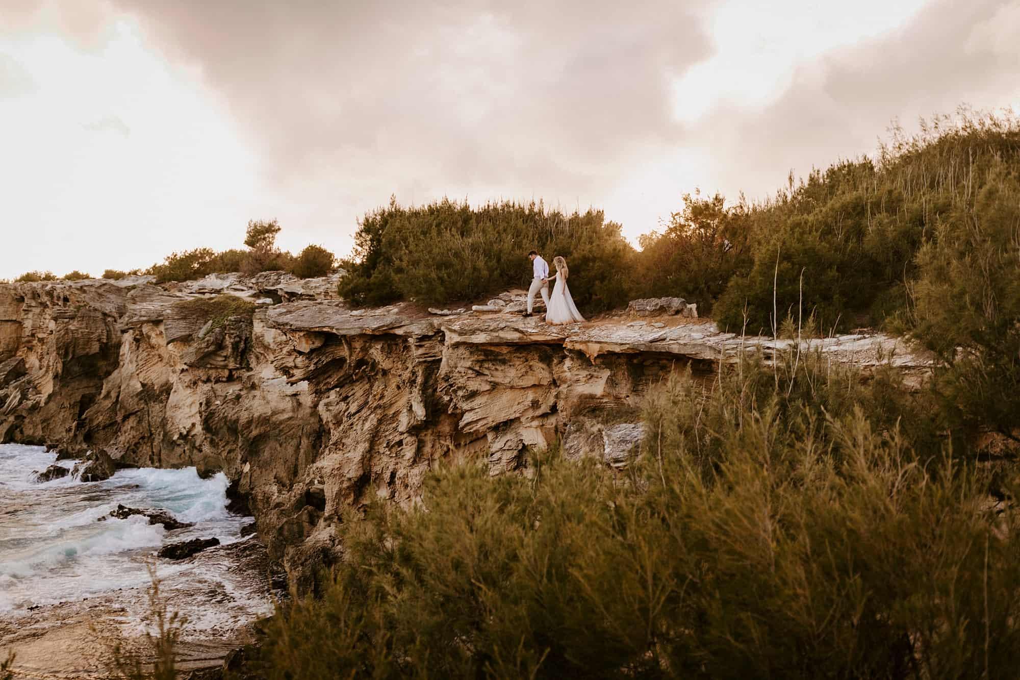 Kauai Hawaii Romantic Intimate Wedding Shipwreck Beach Adventure Portraits